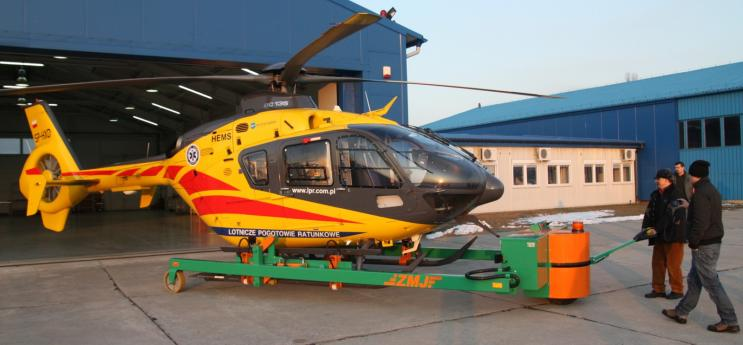 Tow helicopter HEL-3